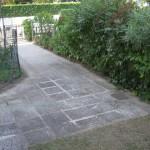 ingresso giardino privato
