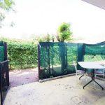 Giardinetto e portico d